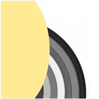 Proužky na Quilling šířka 3mm - světle žluté - 2