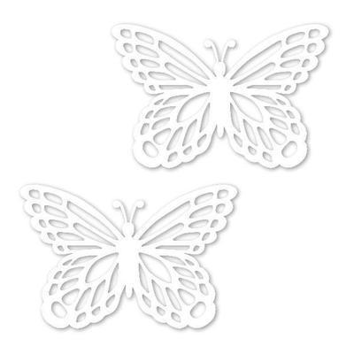 Výřez - Motýl malý bílý, 12 ks - 2