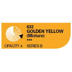 Daler & Rowney Cryla B 75 ml - golden yellow 632 - 2