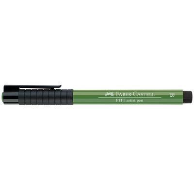 Faber-Castell PITT Artist Pen B - olivový zelený č. 167 - 2