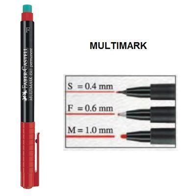 Faber-Castell Multimark Permanent S   Popisovač CD/DVD - modrý - 2