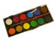 Faber-Castell Vodové barvy - 12 ks, paleta + štěteček, 30 mm - 2/2