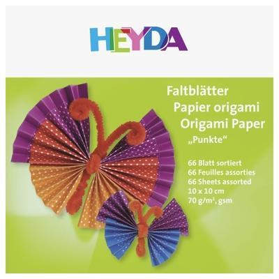 List origami puntíkatý 66ks - 10x10cm - 2