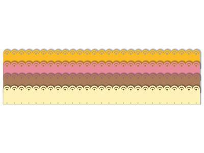 Výřez - Skládané rozety 2, velké - 2
