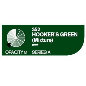 Daler & Rowney Cryla A 75 ml - Hooker´s green 352 - 2