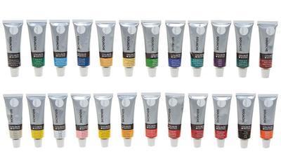 Daler & Rowney Simply Gouache Sada kvašových barev - 24x12 ml   - 2