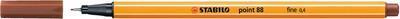 Stabilo Point 88/38 - okrová - 0,4mm - 2