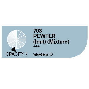 Daler & Rowney Cryla D 75 ml - pewter imitace 703 - 2
