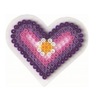 Hama Midi podložka - Malé srdce - 2