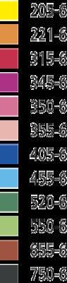 Stabilo EASYcolors 331/12 Pastelky pro leváky  Sada  12 ks + ořezávátko - 2