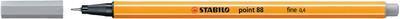 Stabilo Point 88/95 - středně šedá - 0,4mm - 2