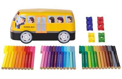 Faber-Castell Fixy Connector plechový autobus /33ks/ - 2