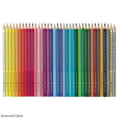 Faber-Castell Pastelky Colour Grip 2001 - 36ks v plechové krabičce - 2