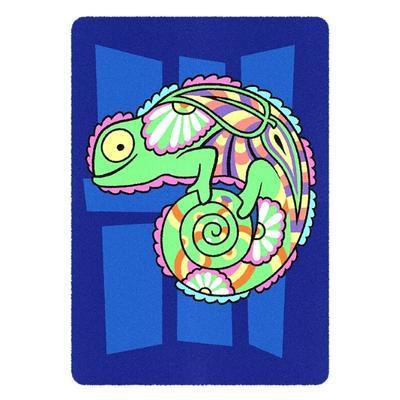 SAND ART - pískování obrázků - 2 obrázky k vypískování + 2 rámečky chameleon a ryby - 3