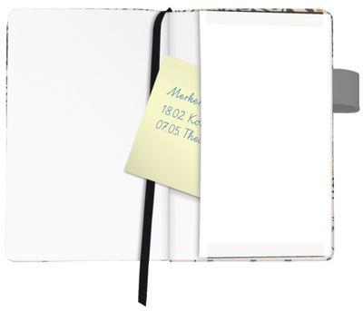 Záznamní kniha A6/96 listů, linka - Lady/Romantic - 3