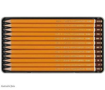 Sada grafitových tužek 1500 TECHNIC - 12ks, HB - 10H - 3