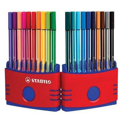 Stabilo Pen 6820-04  ColorParade Sada fixů 1 mm, 20 ks - 3