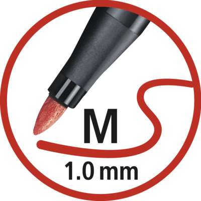 Stabilo Pen 6820-04  ColorParade Sada fixů 1 mm, 20 ks - 3