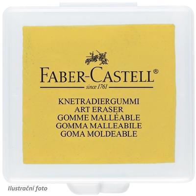 Faber-Castell Stěrací pryž umělecká - červená, žlutá, modrá, v plastové krabičce - 3