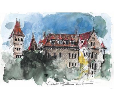 Faber-Castell Pastelky Albrecht Dürer Dárkové balení - 36ks + štětec + kelímek Clic&Go - 3