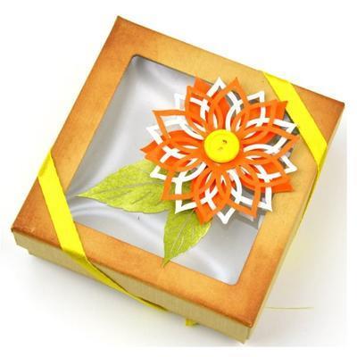 Výřez - Květiny 3 bílé - 3