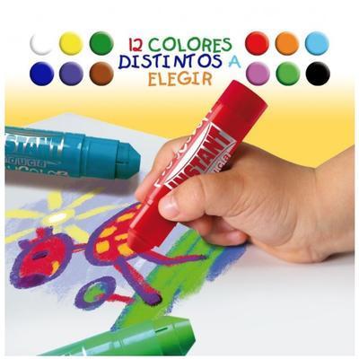 Playcolor Tuhá temperová barva - bílá - 3