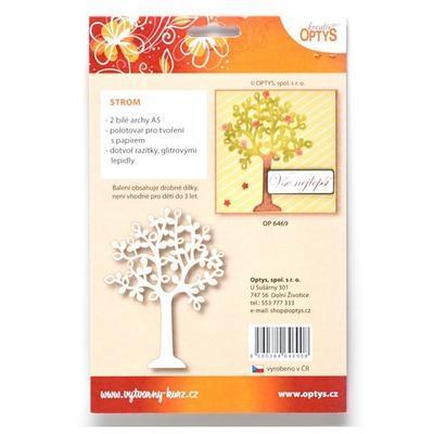 Výřez - Strom, A5, 6 ks - 3