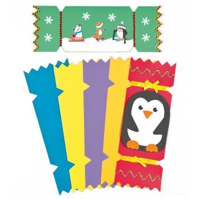Vánoční kartičky - 6 barev, 28x10 cm - 3
