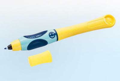 Pelikan Inkoustový roller Griffix 3 pro leváky - žlutý/modrý - 3