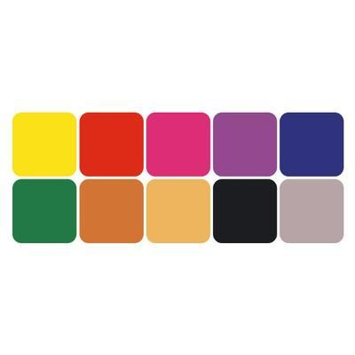 StampoColors - Primary, barevné polštářky - 3