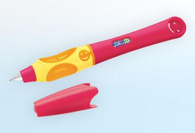 Pelikan Bombičkové pero Griffix 4 pro praváky - třešňové/oranžové - 3