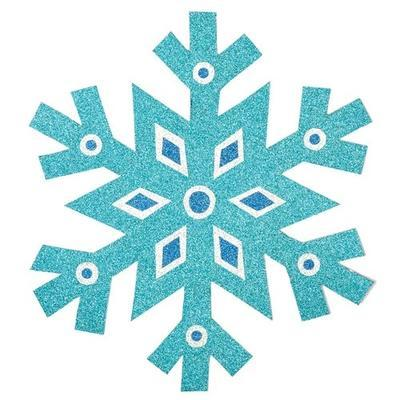 Papír třpytivý A4, 250 g/m2, 16 ks - 8 barev - 3