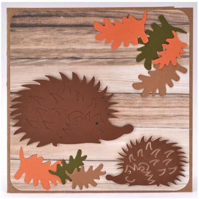 Výřez - Velký ježek, 12 ks - 3
