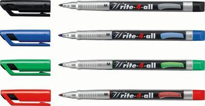 Stabilo Write-4-all, Permanent fix  1 mm - černý - 3
