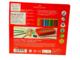 Faber-Castell Pastelky Colour Grip - 16 ks + tužka + ořezávátko v kovové etui - 3/3