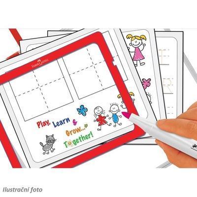 Faber-Castell Slim Wonder Whiteboard Set - 10 ks popisovačů v plastovém kufříku - 3
