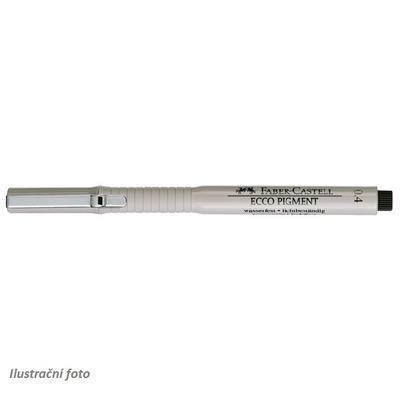 Faber-Castell Popisovač ECCO PIGMENT - 0,4 mm černý - 3