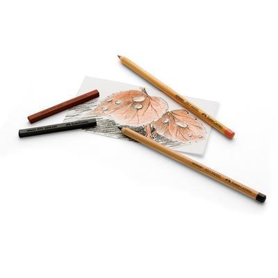 Faber-Castell Pastelky PITT PASTEL - 12 ks v kovové etui - 3