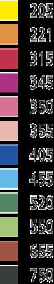 Stabilo EASYcolors 332/350 Pastelka pro praváky - růžová  - 3