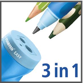 Stabilo EASYsharpener  Ořezávátko pro leváky - modré - 3