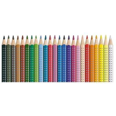 Faber-Castell Pastelky Colour Grip 2001 - 24 ks i pro L - 3