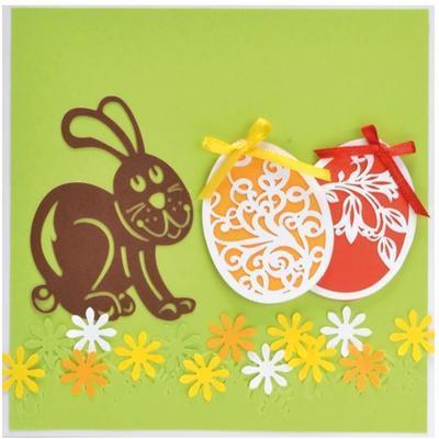 Výřez filigrán - Velikonoční vajíčka, 8 ks - 3
