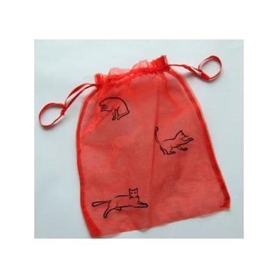 Samolepka na textil zažehlovací sametová  10x30 cm - CHATS  kočky - 3