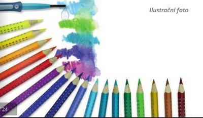 Faber-Castell Pastelka Jumbo Grip - fialová - 3
