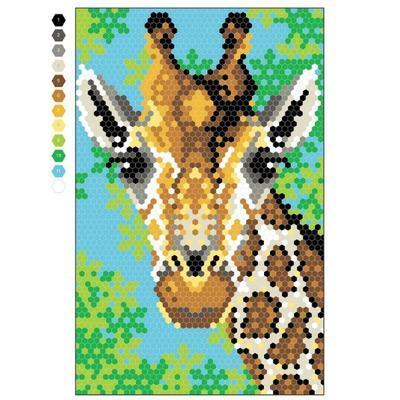 Omalovánky pro dospělé - Pixel Art - 3