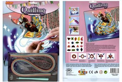 Quilling - koníček, labuť, motýl - 3