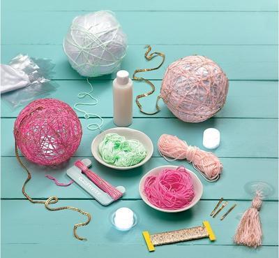 """Kreativní sada """"Craftivity"""" - Super String Lanterns - 3"""