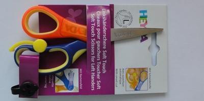 Heyda Dětské nůžky Soft Touch Plus - pro leváka špičaté  - 3