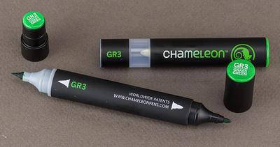 Chameleon Color Tones  Grass Green - GR3 - 4