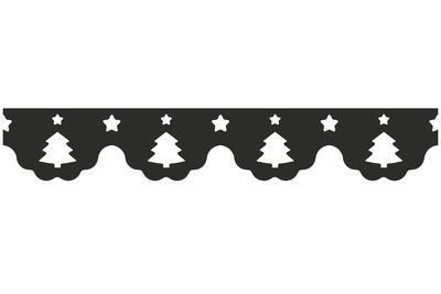 HEYDA Děrovač okrajový - bordura Stromky vánoční   - 4